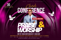 Church Conference Flyer Template Ilebula