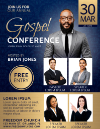 Church Conference Flyer Template Design