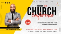 Church Conference Flyer Template Twitter Post