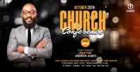 Church Conference Flyer Template Sampul Acara Facebook