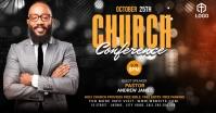 Church Conference Flyer Template Gambar Bersama Facebook