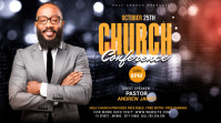 Church Conference Flyer Template Digital Display (16:9)