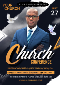 Church Conference Flyer Template A4