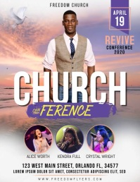 Church Conference Flyer Video Template