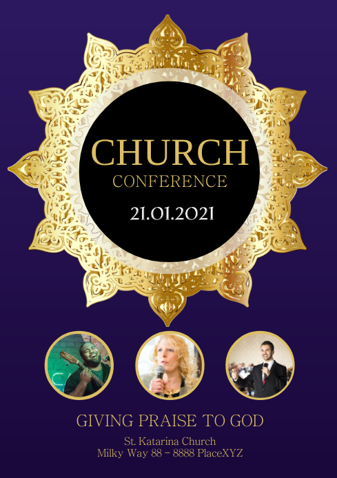 Church Conference Gospel Event Music Events