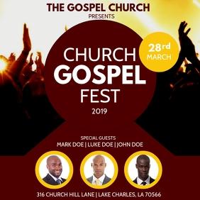 CHURCH CONFERENCE GOSPEL FLYER