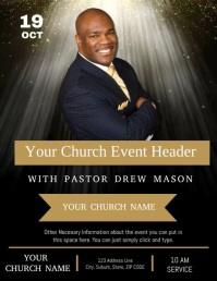 Church Conference Service Event Template