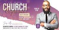 Church Conference video ad Facebook Advertensie template
