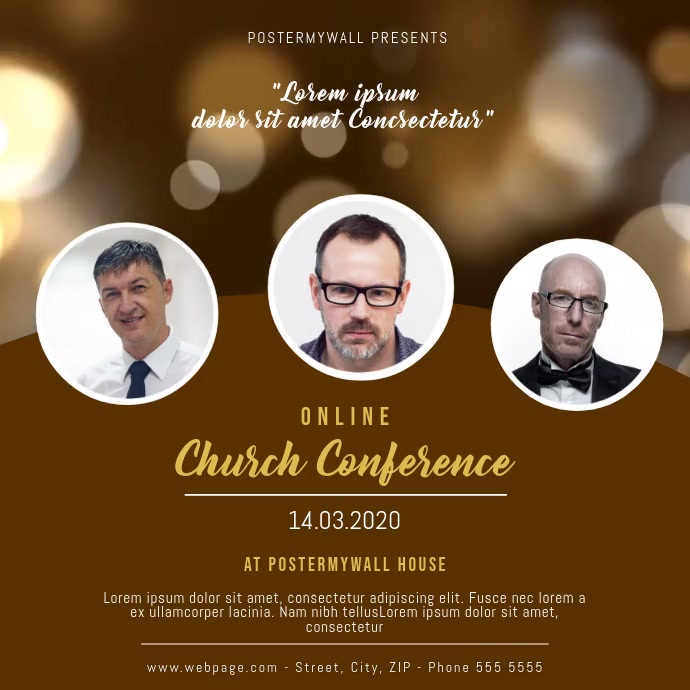 Church Conference video Template