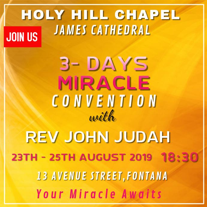 Church Convention Template