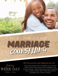 Church Counselling Flyer Template
