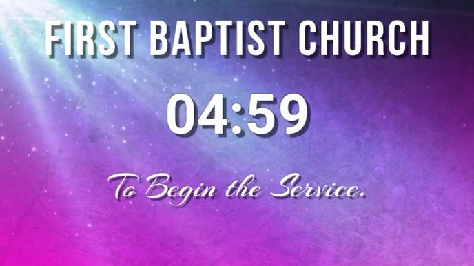 church countdown