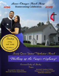 Church Cover Design Flyer (US Letter) template