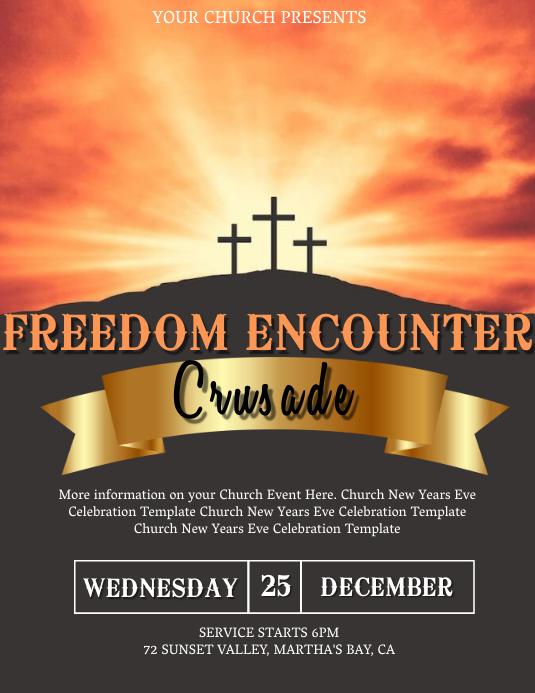 Church Crusade Event Template