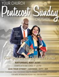 Church Crusade Flyer Template