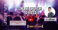 Church Facebook-Anzeige template