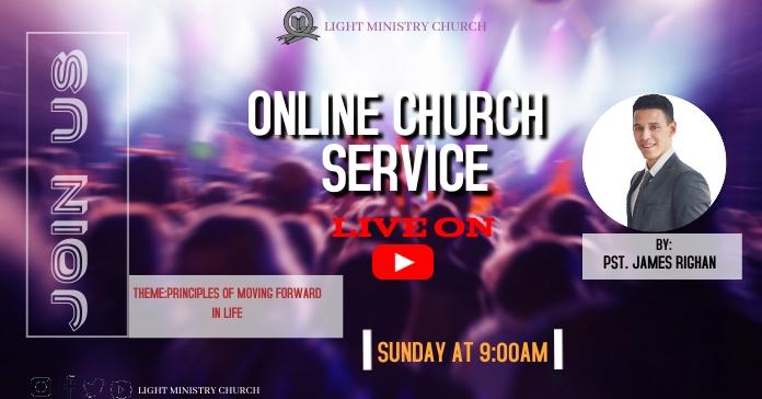 Church Facebook Ad template