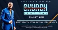 church Imagem partilhada do Facebook template