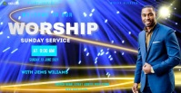 Church Reklama na Facebooka template