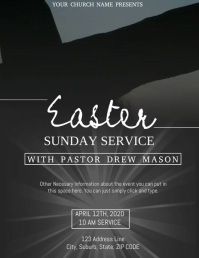 Church Easter Service Event Video Template