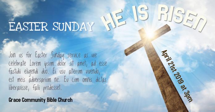 Church Easter Service Facebook