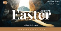 Church Easter Service Special Guest Event template