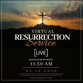 Church Easter Sunday LIVE Templates
