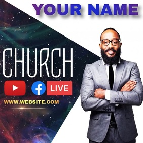CHURCH EVENT AD INSTAGRAM template