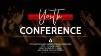 church event flyer Digital Display (16:9) template