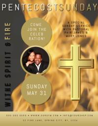 Church Event Flyer Poster Template