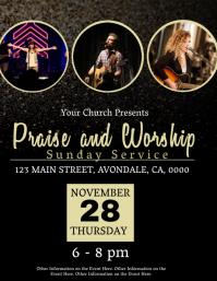 Church Event Flyer Template