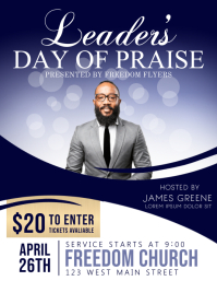 Church Event Flyer Template Design