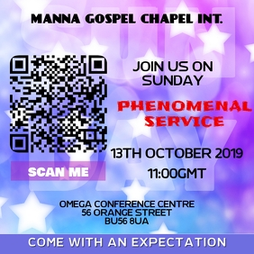 Church Event Template