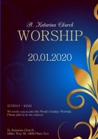 Church Event Worship Service Celebration