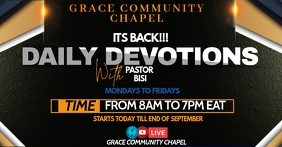 CHURCH FACEBOOK COVER POSTER template