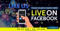 CHURCH FACEBOOK ONLINE AD TEMPLATE