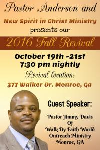 Church Fall Revival