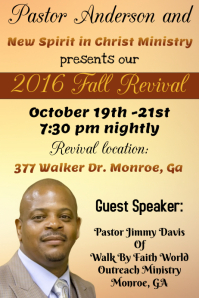 Church Fall Revival