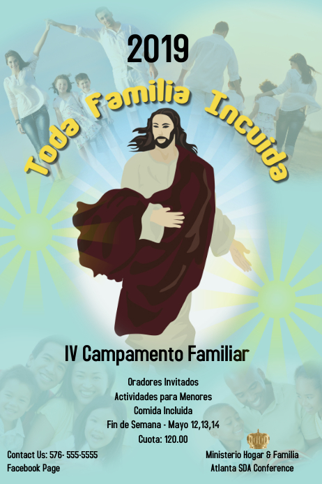Church/Family Camp/ Ministerio familia
