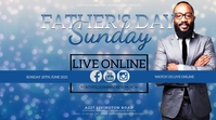 CHURCH FATHER'S DAY ONLINE SERMON TEMPLATE YouTube-Miniaturansicht