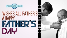 CHURCH FATHER'S DAY ONLINE WISHES TEMPLATE Gambar Mini YouTube