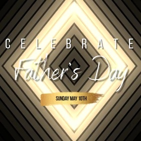 church father's day template Square (1:1)