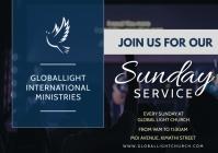 church flyer A3 template