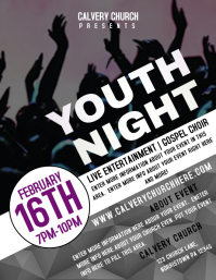 21 350 customizable design templates for youth event postermywall