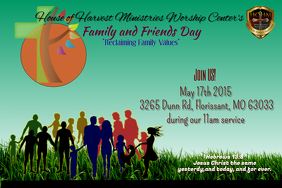 890 Customizable Design Templates For Family Gathering Postermywall