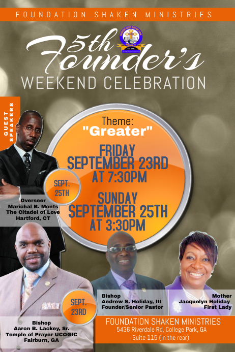 free flyer templates for church events - church flyer template postermywall