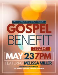 gospel flyer template