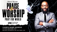 Church Flyer Template Facebook Cover Video (16:9)