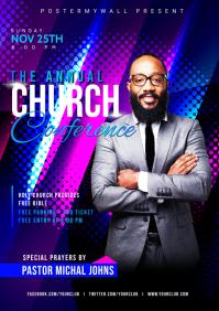Church Flyer Template A5