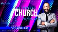 Church Flyer Template Video Sampul Facebook (16:9)